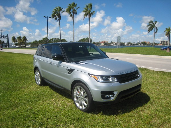 Used 2015 Land Rover Range Rover Sport V8 Supercharged Dynamic | Miami, FL n10
