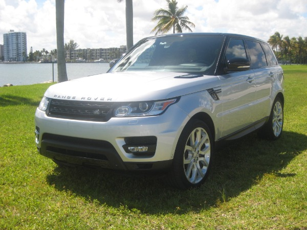 Used 2015 Land Rover Range Rover Sport V8 Supercharged Dynamic | Miami, FL n8