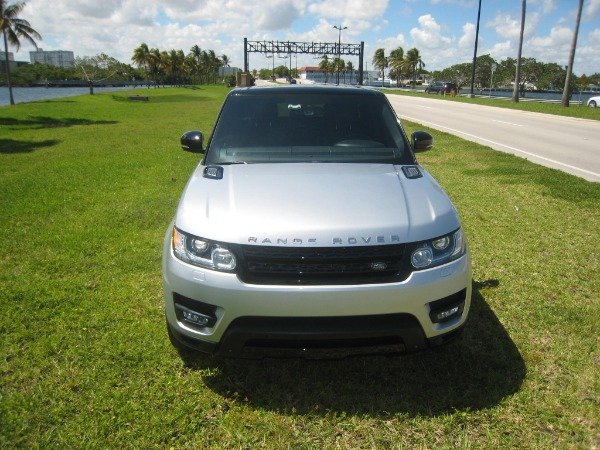 Used 2015 Land Rover Range Rover Sport V8 Supercharged Dynamic | Miami, FL n9