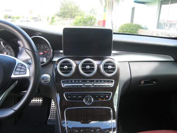 Used 2017 Mercedes-Benz C-Class C 300 Sport AMG | Miami, FL n19