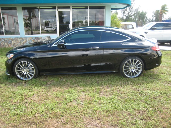 Used 2017 Mercedes-Benz C-Class C 300 Sport AMG | Miami, FL n27