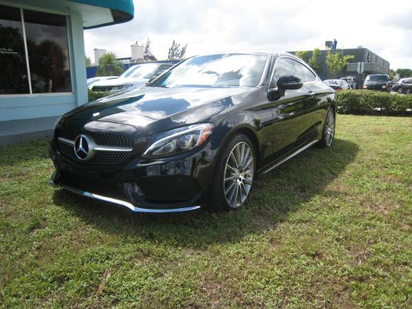Used 2017 Mercedes-Benz C-Class C 300 Sport AMG | Miami, FL n34