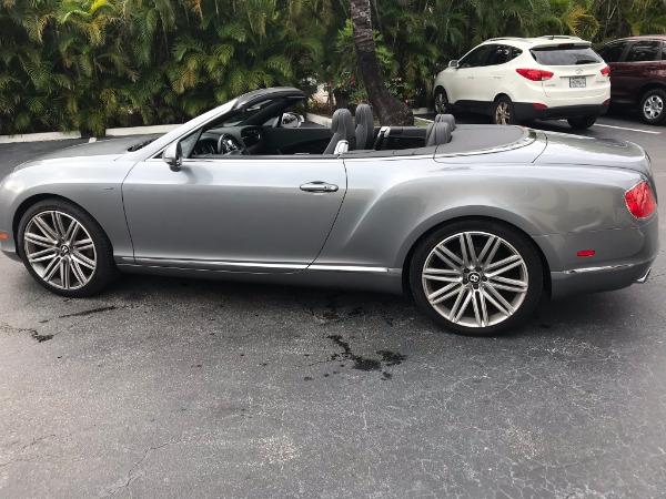 Used 2014 Bentley Continental GTC Speed | Miami, FL n5