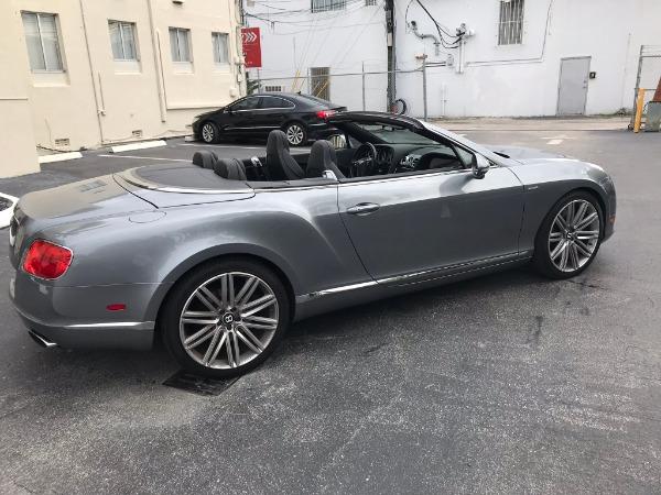Used 2014 Bentley Continental GTC Speed | Miami, FL n7