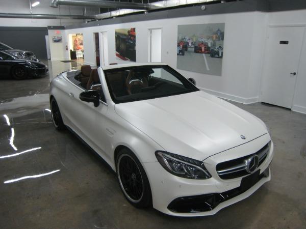 Used 2017 Mercedes-Benz C-Class AMG C 63 S | Miami, FL n13