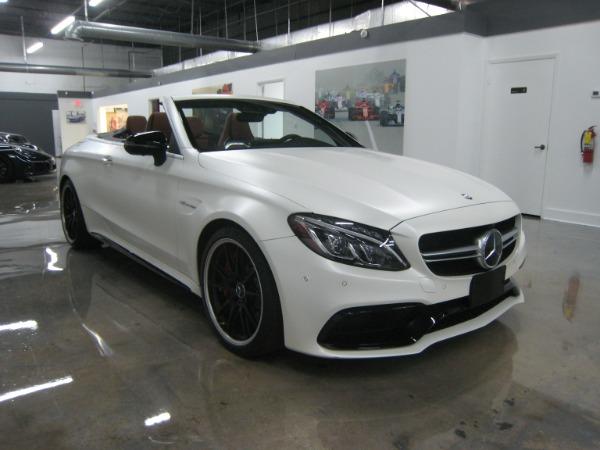 Used 2017 Mercedes-Benz C-Class AMG C 63 S | Miami, FL n27