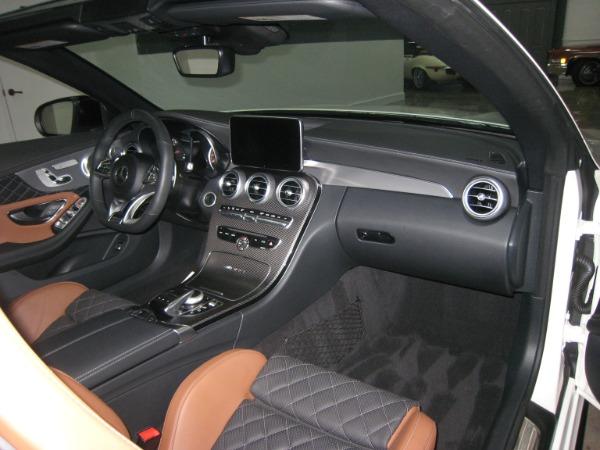 Used 2017 Mercedes-Benz C-Class AMG C 63 S | Miami, FL n36