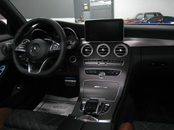 Used 2017 Mercedes-Benz C-Class AMG C 63 S | Miami, FL n37