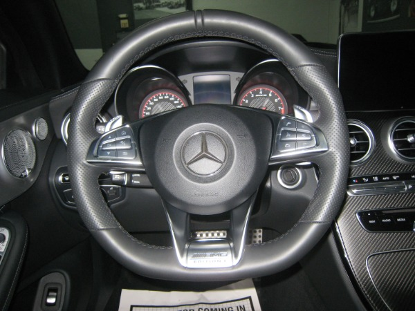 Used 2017 Mercedes-Benz C-Class AMG C 63 S | Miami, FL n38